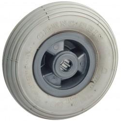 Roue Corps Nylon Pneumatique Gonflable Diametre 200 x 50, Roulement A Rouleaux Diametre 20, Charge 100 Kg IM#1945IM#1945