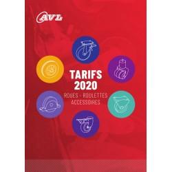 Tarif 2020