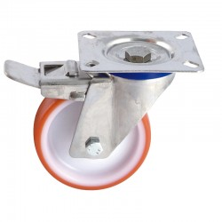 Roulette Inox Pivotante A...