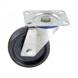 Roulette Inox Pivotante,...